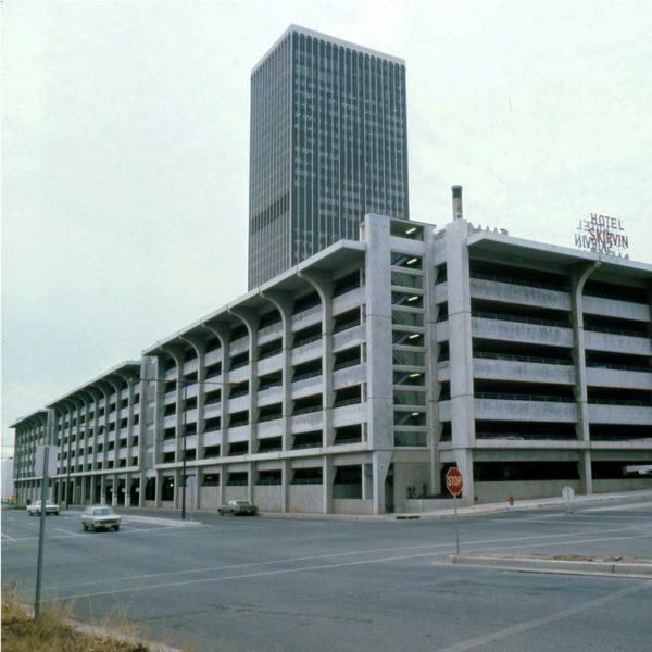 Central Oklahoma Transportation and Parking Authority Garage - Oklahoma City, OK. 1972