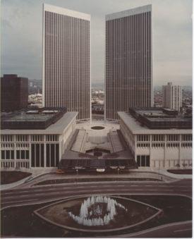 Century City Center Garage (Theme Building) - Los Angeles, CA. 1967